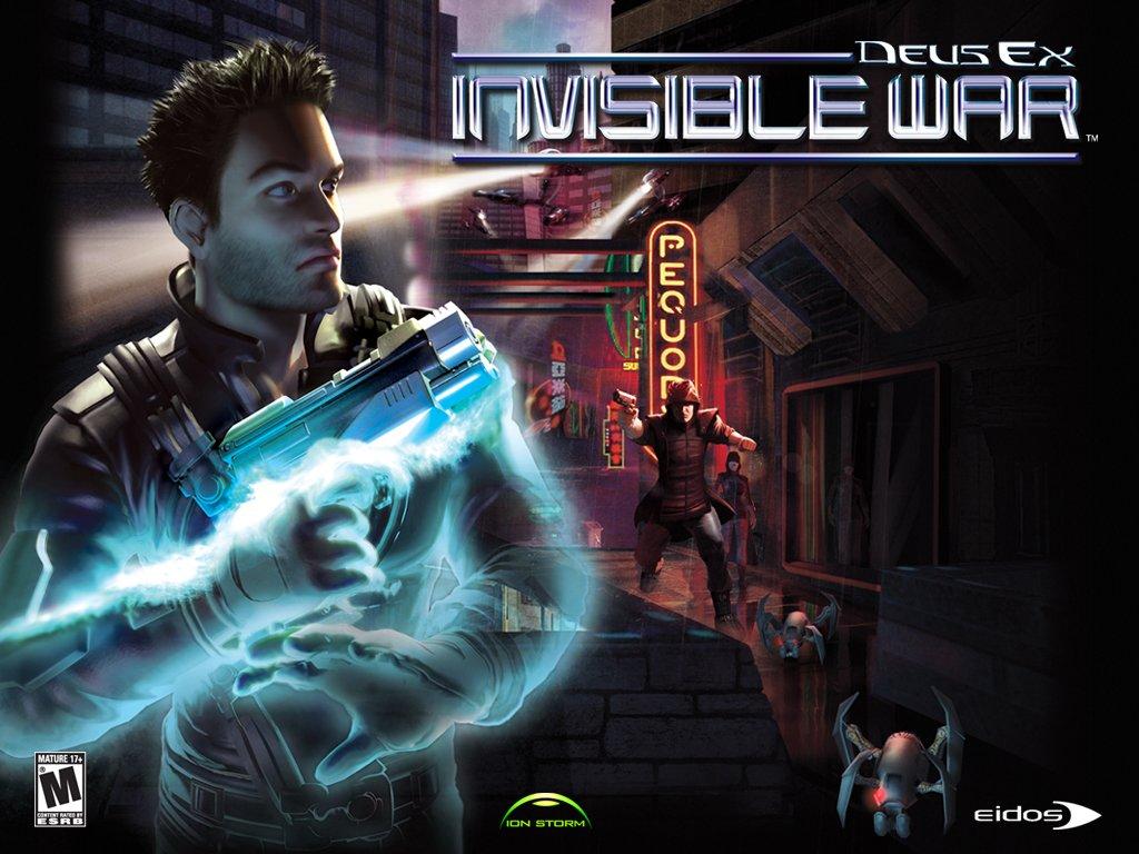 PCゲームレビュー「DeusEx: Invi...