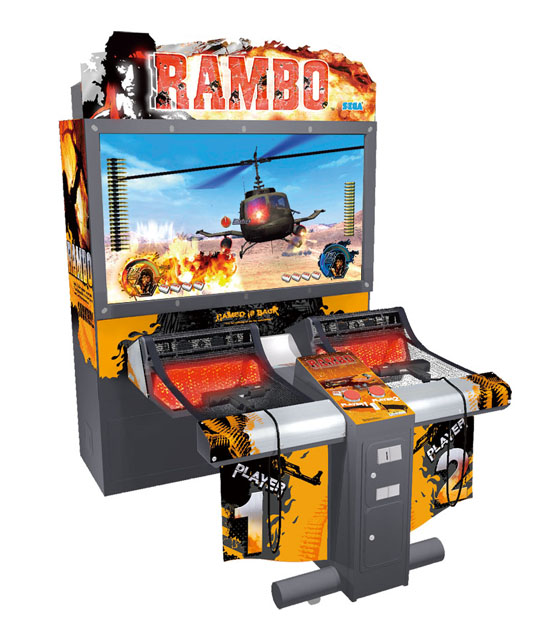 China Arcade Game Machine, Game Machine (Rambo) - China ...