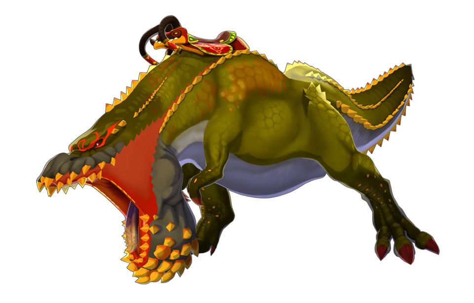 「イビルジョー」:餌を求めてさまよう「恐暴竜」。その巨躯から放たれる攻撃は絶大な破壊力をもつ