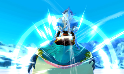 「ザボアザキル」:別名「化け鮫」。氷を纏って防御を固めるという、特徴的なスキルをもつ