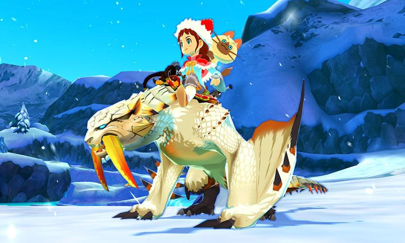 「amiibo ベリオロス(ヒョウガ)&アユリア モンスターハンター ストーリーズ」約120×110×98mm(幅×奥行き×高さ)
