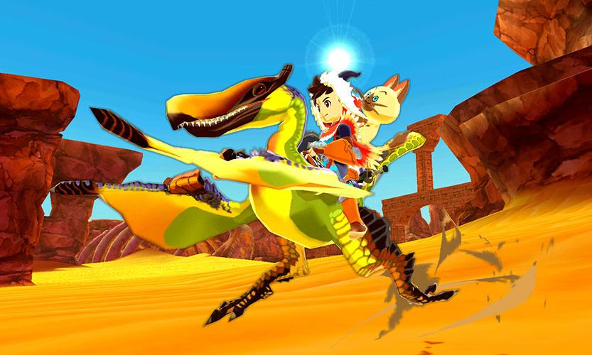 「amiibo クルペッコ&ダン先輩 モンスターハンター ストーリーズ」約97×84×101mm(幅×奥行き×高さ)