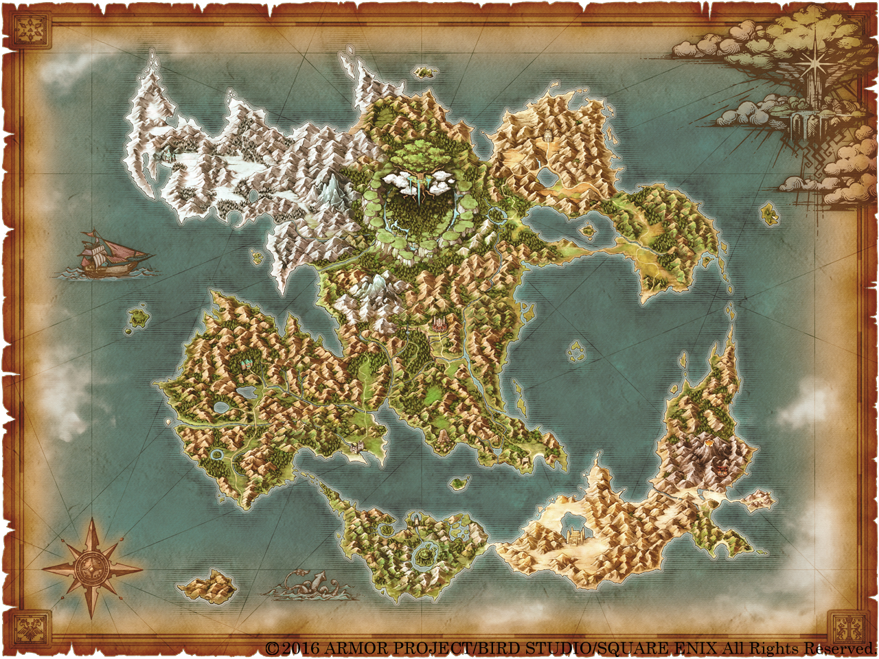 How Large Is Dq11 S World Compared To That Of Dq8 Dragonquest