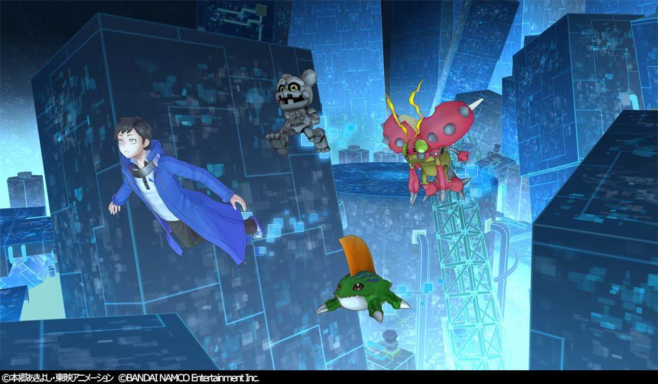 デジモンと共に冒険する育成RPG