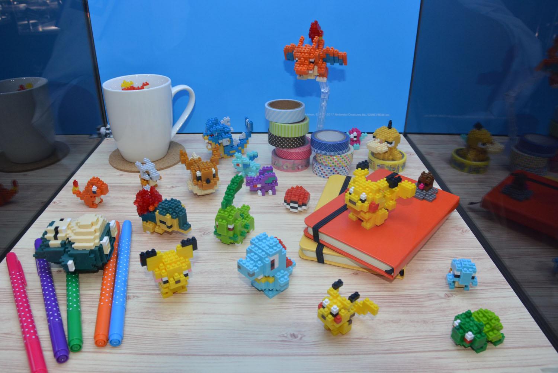 拡大画像] 【東京おもちゃショー2017】カワダの「ナノブロック」で表現