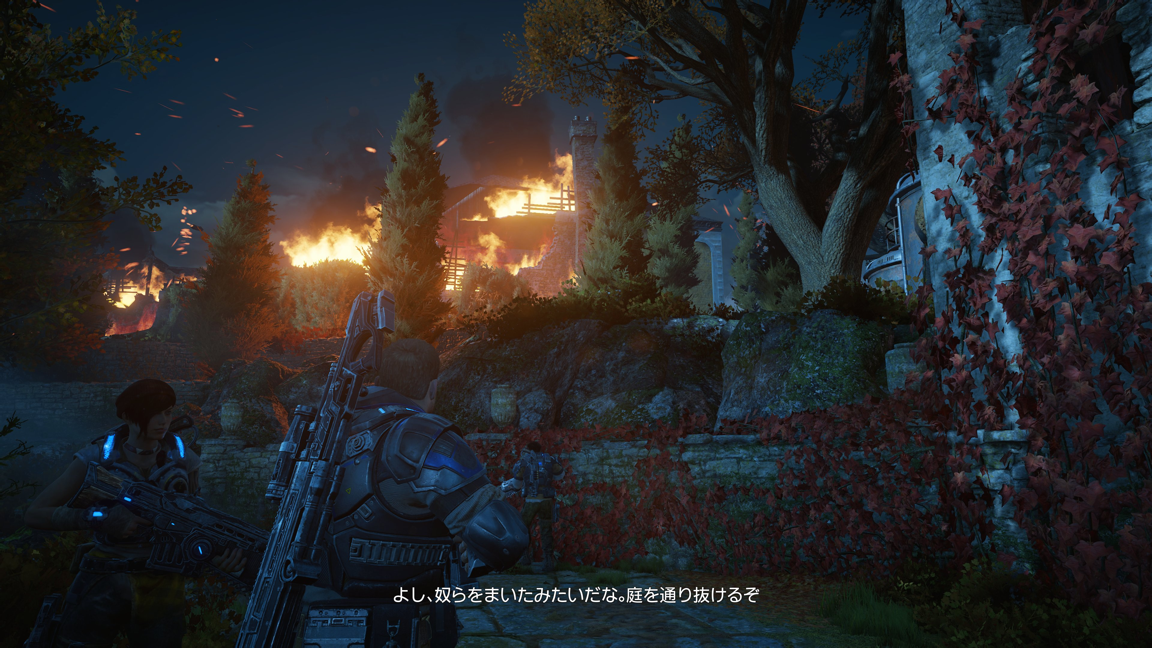 「Gears of War 4」(日本マイクロソフト)