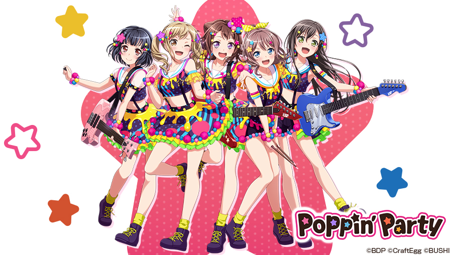 「Poppin'party」の画像検索結果