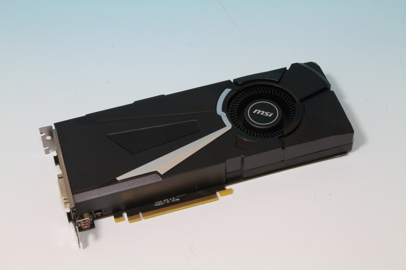 MSI製のGeForce GTX 1070