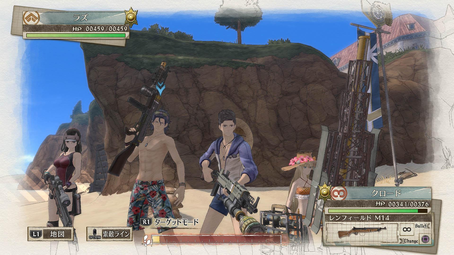 [Valkyria Chronicles 4/Senjou no Valkyria 4] รายละเอียด DLC ที่จะตามมาหลังจากนี้!!!