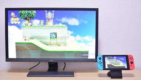 BenQ EL2870U」レビュー - GAME Watch