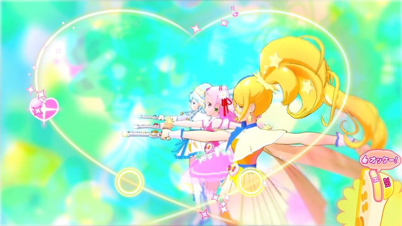 拡大画像 アニメの世界でプリキュアになれるなりキッズパーク Hugっ