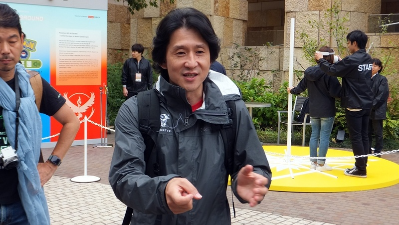 Niantic Executive Producer、Director of Asia Pacific Operationsの川島優志氏の姿も。メディア向けにイベントの案内を行なった