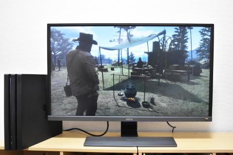PR】PS4 Proで徹底検証!!違いのわかるゲーミングモニター「BenQ EW3270U