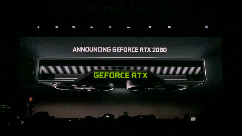 GeForce RTX 2060の外観