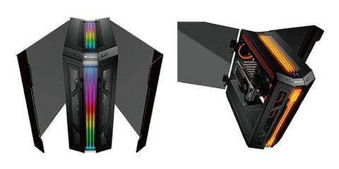 5469e601d3 マイルストーン、PCケース「COUGAR GEMINI T」発売決定 - GAME Watch