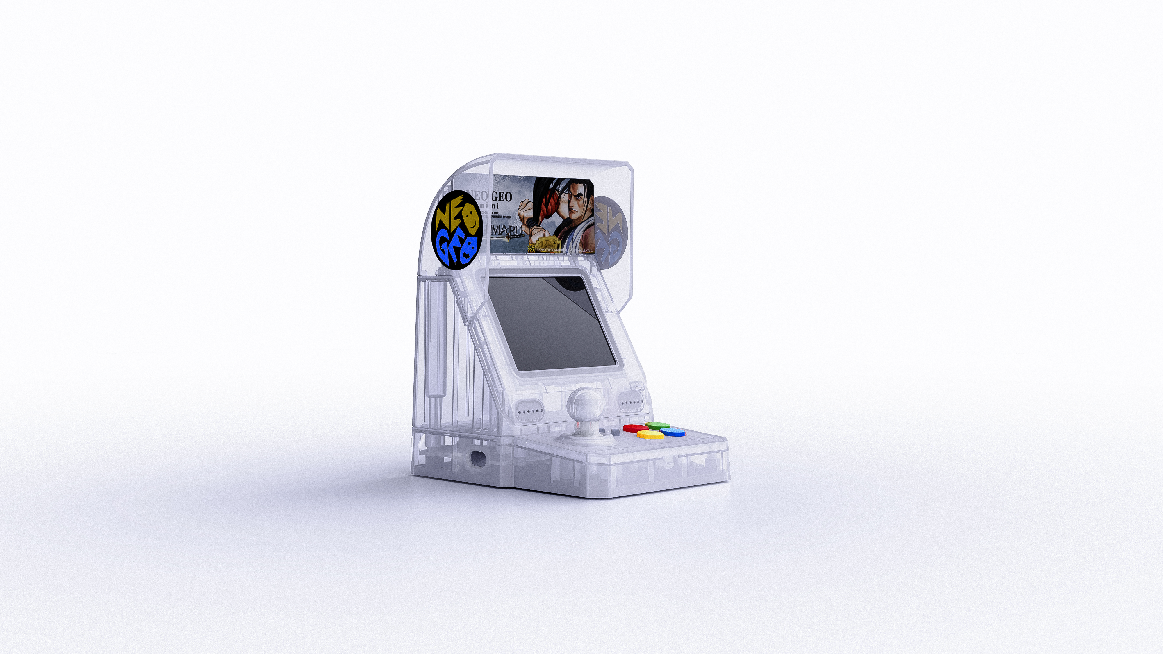 [Neo-Geo Mini]  ออกสีใหม่ 3 สี ฉลองซามูไร สปิริท