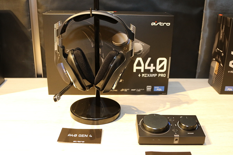 A40(左)とMixAmp(右)
