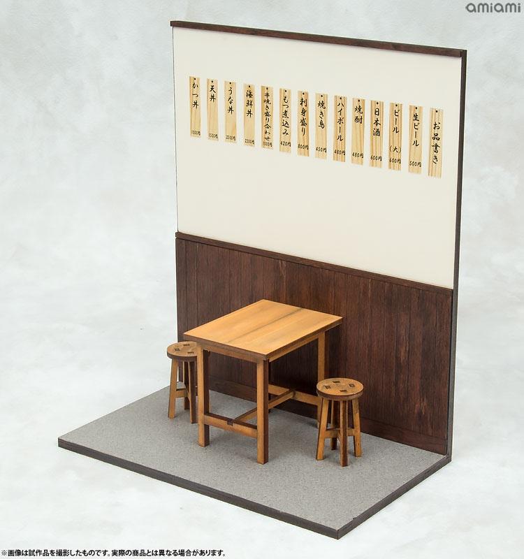 【模型】浅草の居酒屋を1/12スケールで再現!「居酒屋・食堂組み立てキット」が発売