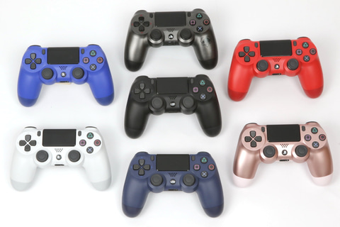 特集】PS4の標準ゲームコントローラー「DUALSHOCK 4」を使い倒す