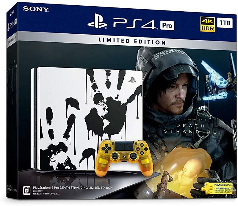 「PlayStation 4 Pro DEATH STRANDING LIMITED EDITION」価格:39,980円(税込)