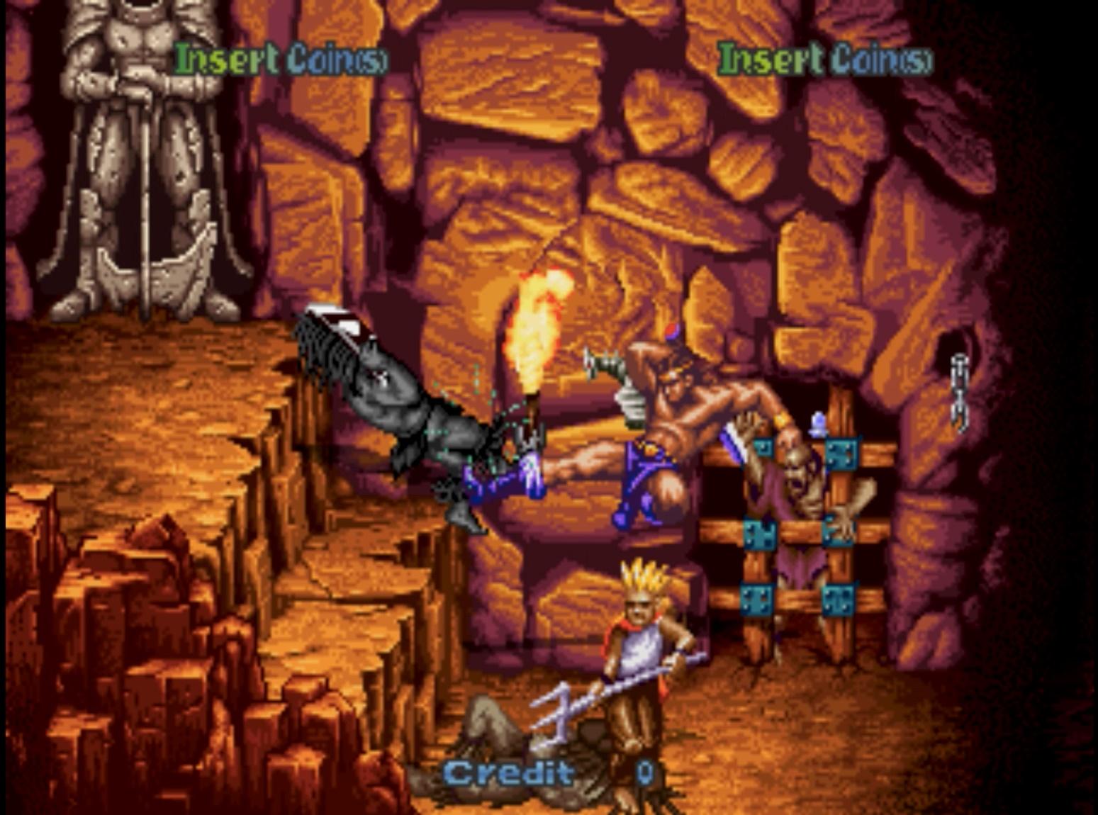 「ゴールデンアックス」シリーズ続編! ルート分岐搭載で異なるステージをプレイ可能!迫りくる悪者達を剣と魔法で倒し再び世界に平和を取り戻せるか