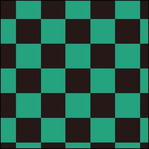 鬼滅の刃の集英社が緑と黒の市松模様を商標出願してしまう!