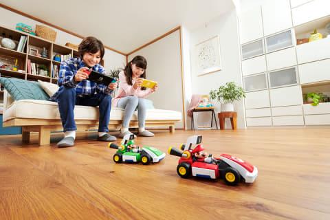 ラジコンとARで家の中がコースになる! Switch「マリオカート ライブ ...