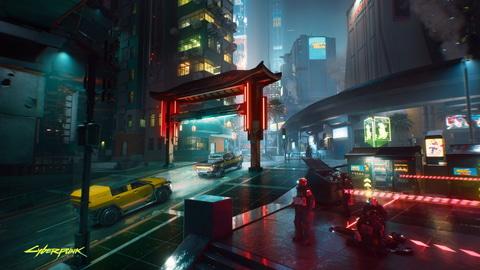 サイバーパンク77 のネオンが煌めくナイトシティ 壁紙にもぴったりな素材が到着 Game Watch