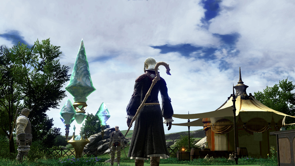 FFXI Races in FFXIV pictures New