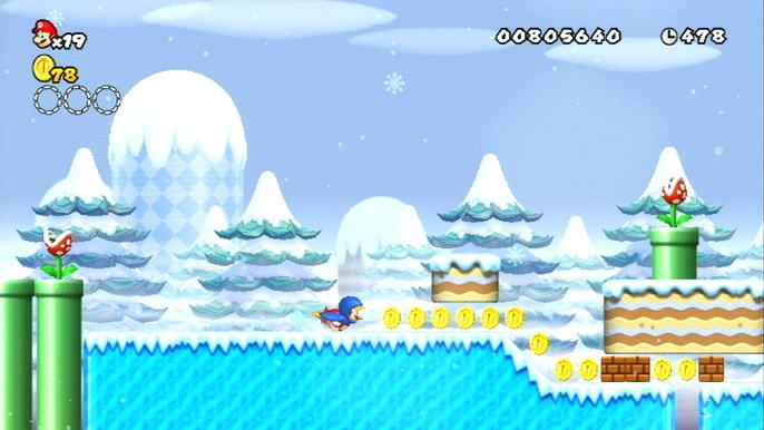 Wiiゲームレビュー 「New スーパーマリオブラザーズ Wii」(24/64)