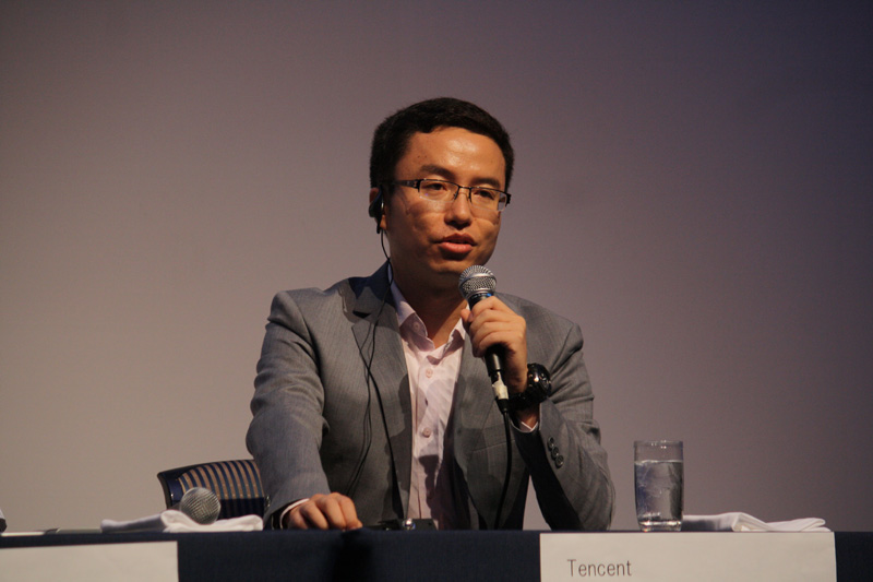 TencentのProduct Director of wireless product department Iven Li氏