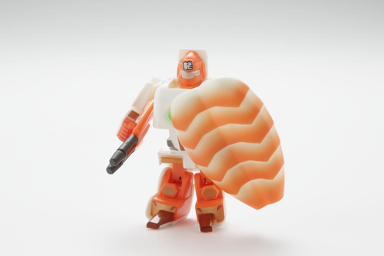 寿司が変形してロボになる玩具「お寿司戦隊シャリダー」が発売。回転寿司好きのケンモメンも大興奮