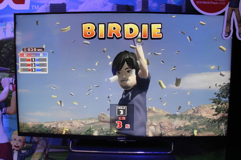 PS4「New みんなのGOLF」 今作ではゴルフコースはオープンワールドになっており、9ホール分の空間を自由に移動できるようになっている