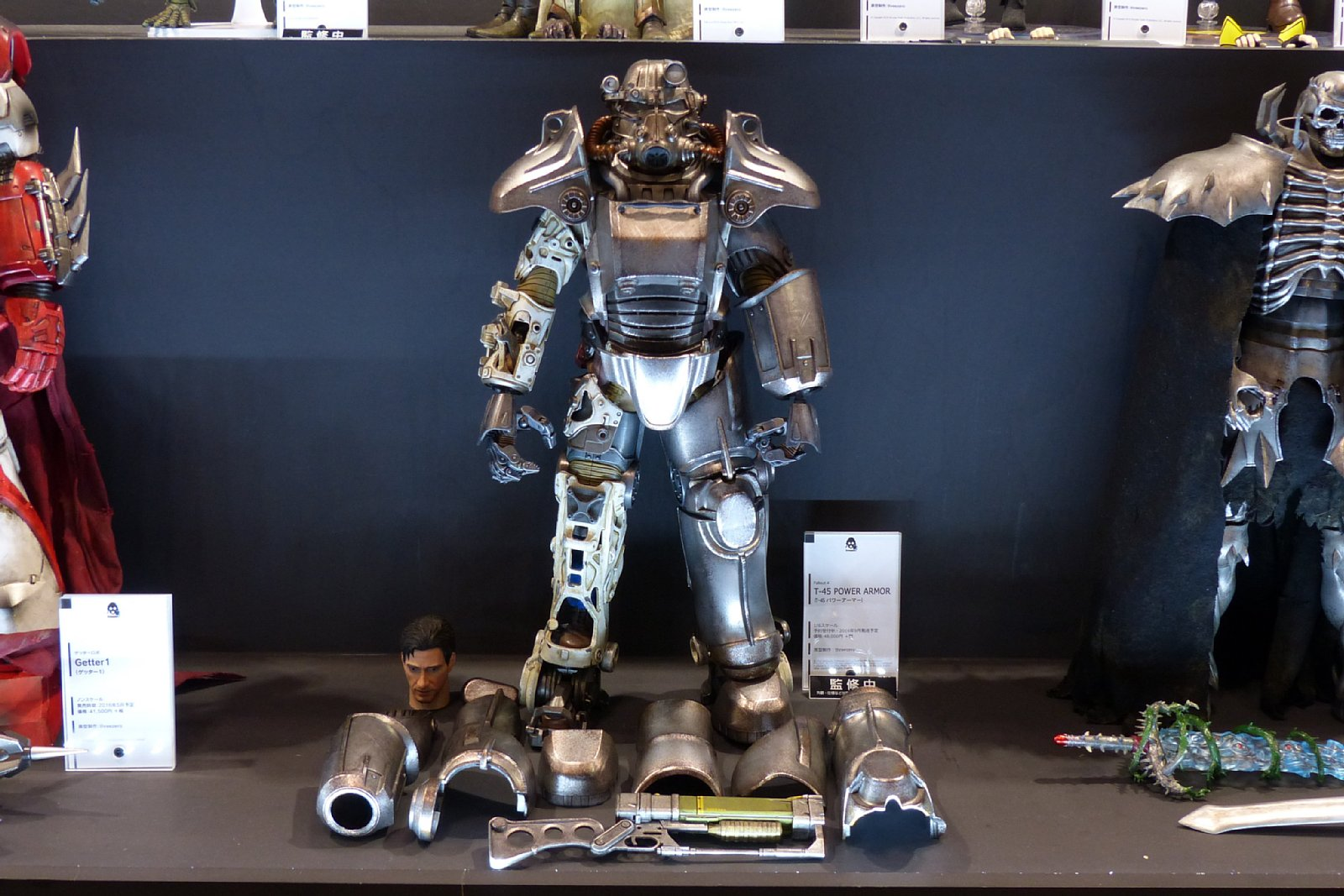 「threezero Fallout 4 1/6 T-45 POWER ARMOR」、2016年9月発売予定、48,000円(税別)