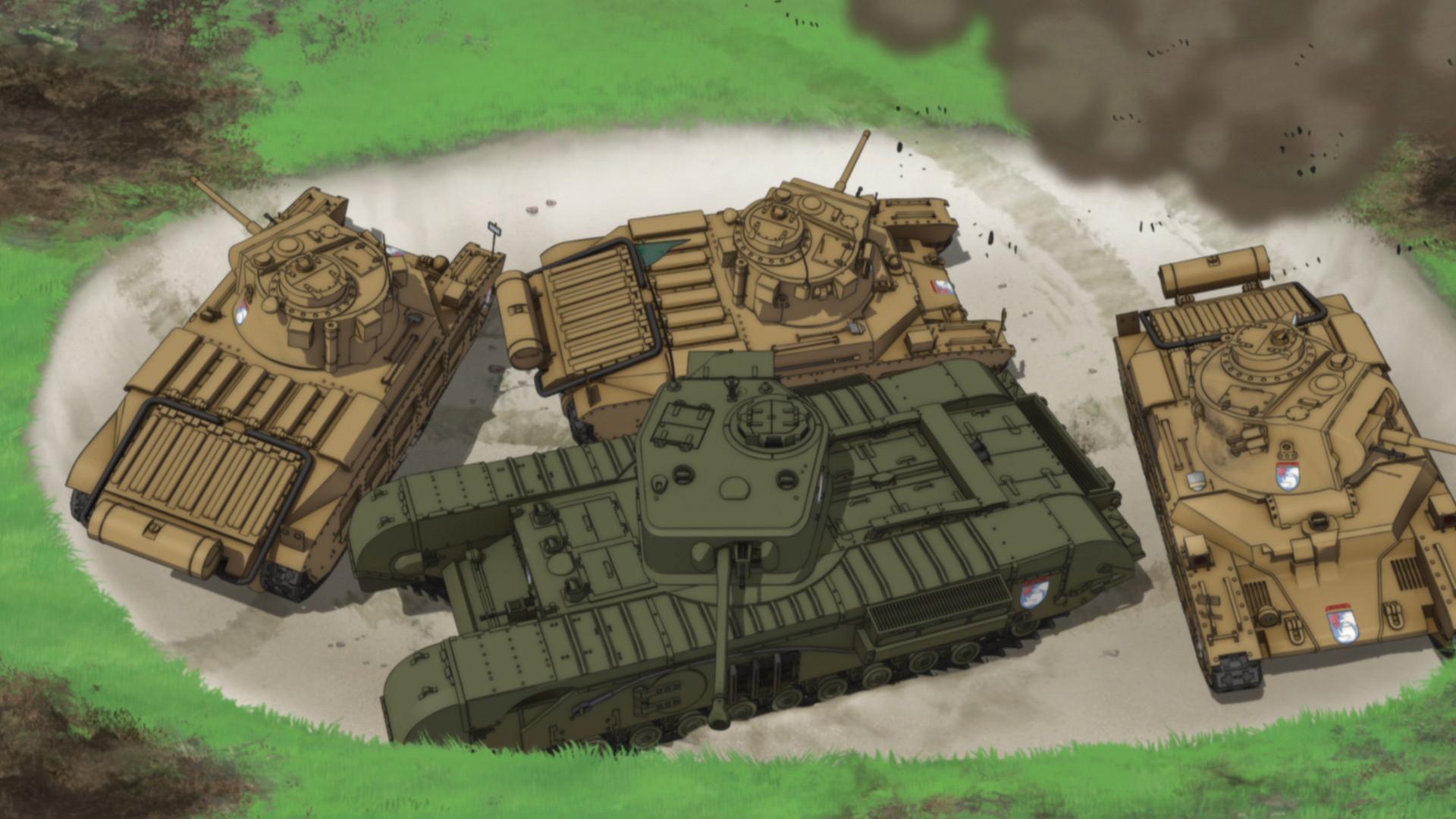 第7回:ダージリン様、この重戦車は難しいです!「チャーチル歩兵戦車 ...