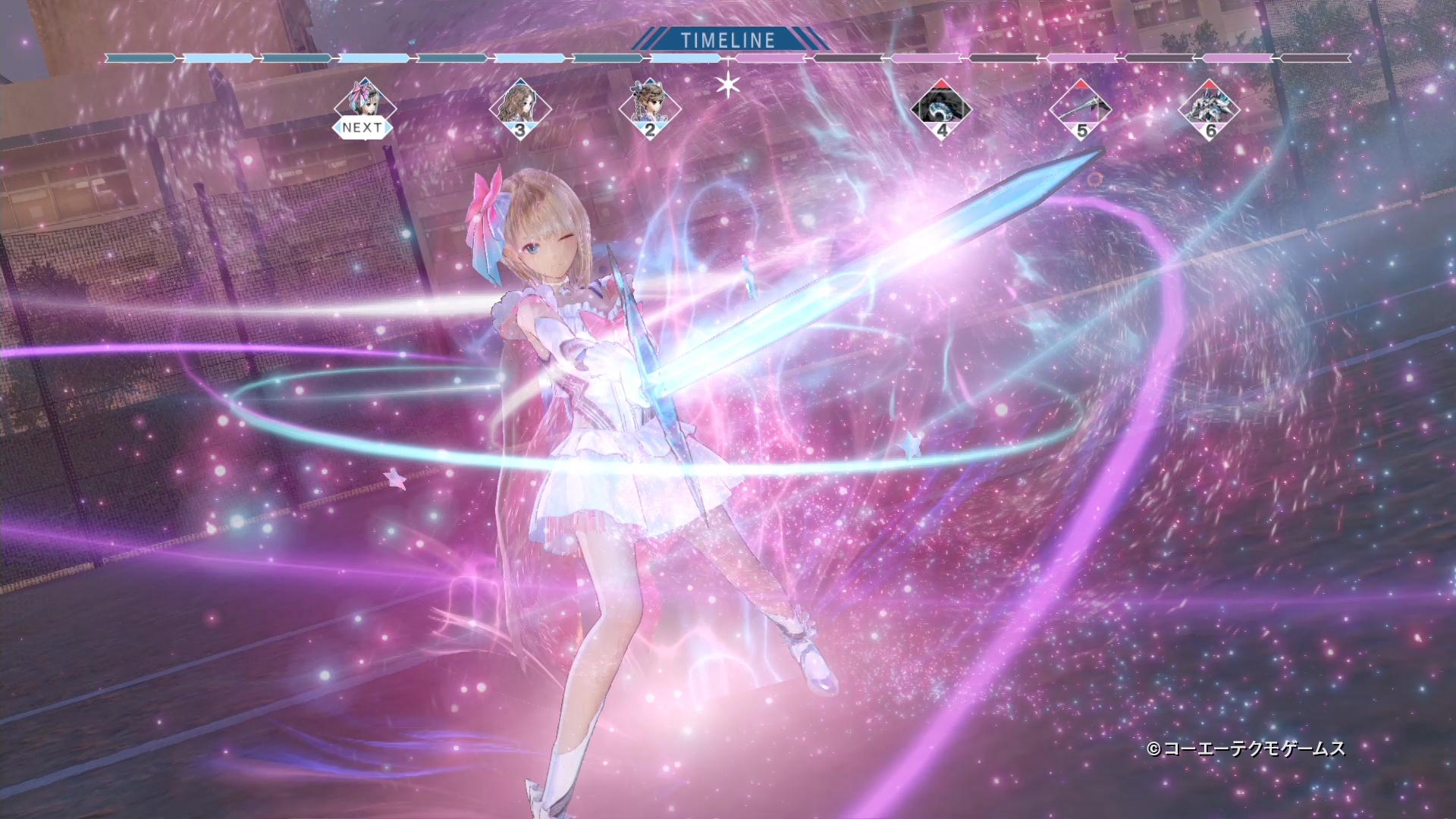 Blue Reflection 幻に舞う少女の剣 プレイムービー第2弾を公開 Game Watch
