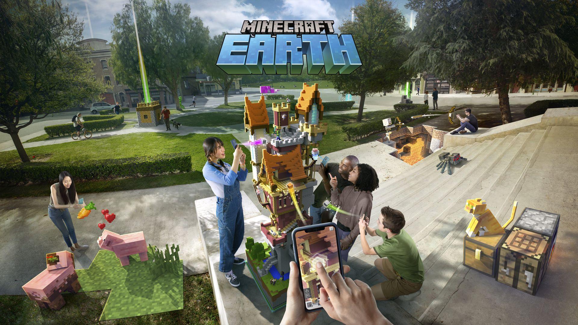 特報 Minecraft はいよいよ 地球 が舞台に Microsoftが総力を