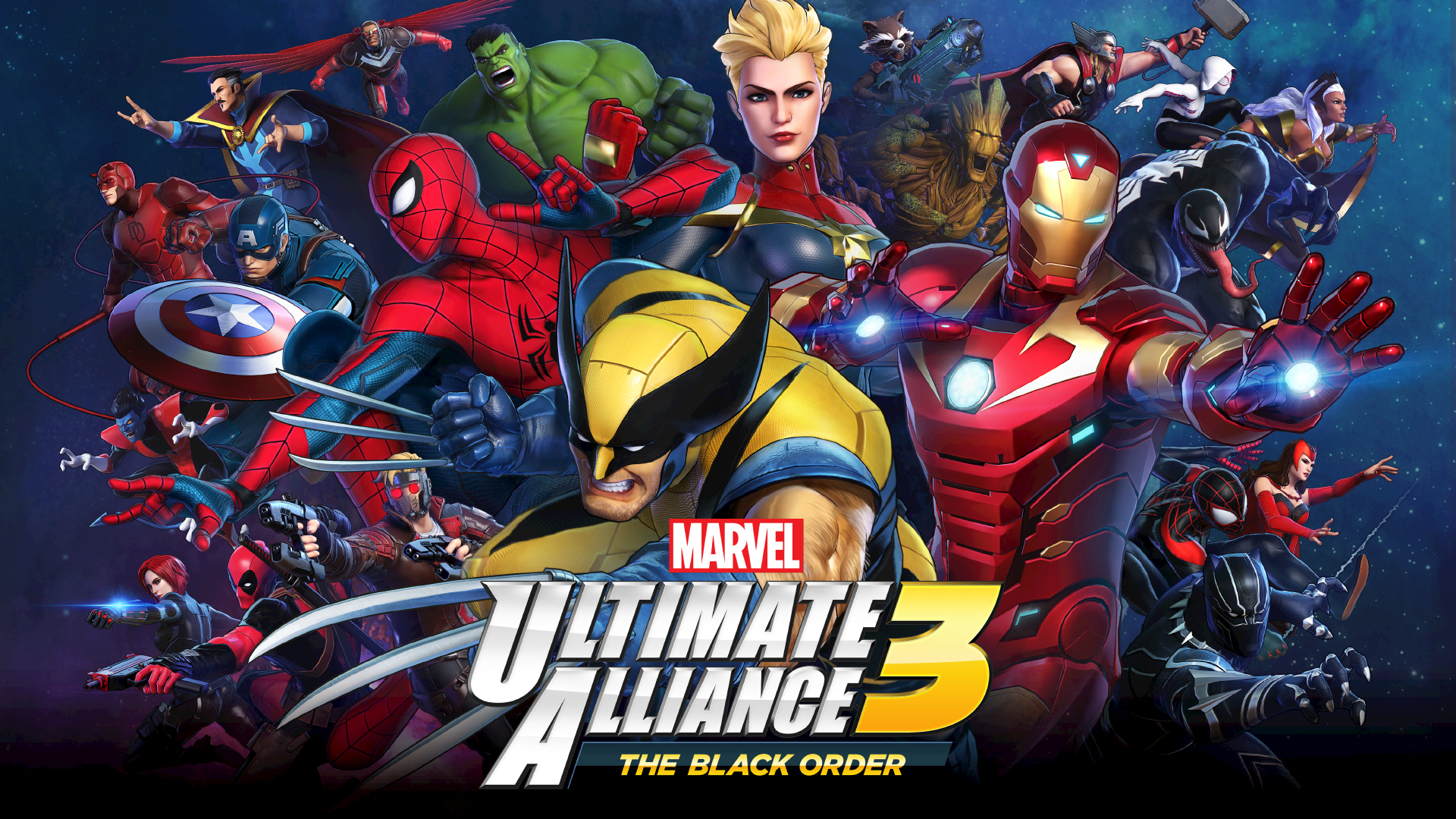 Switch Marvel Ultimate Alliance 3 The Black Order あらかじめ