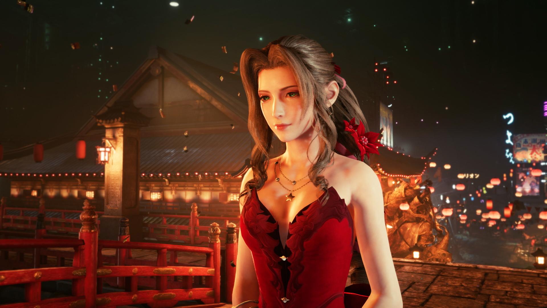 クラウドの女装やエアリスとティファのドレス姿も Ffvii Remake 最新スクリーンショットを大量公開 Game Watch