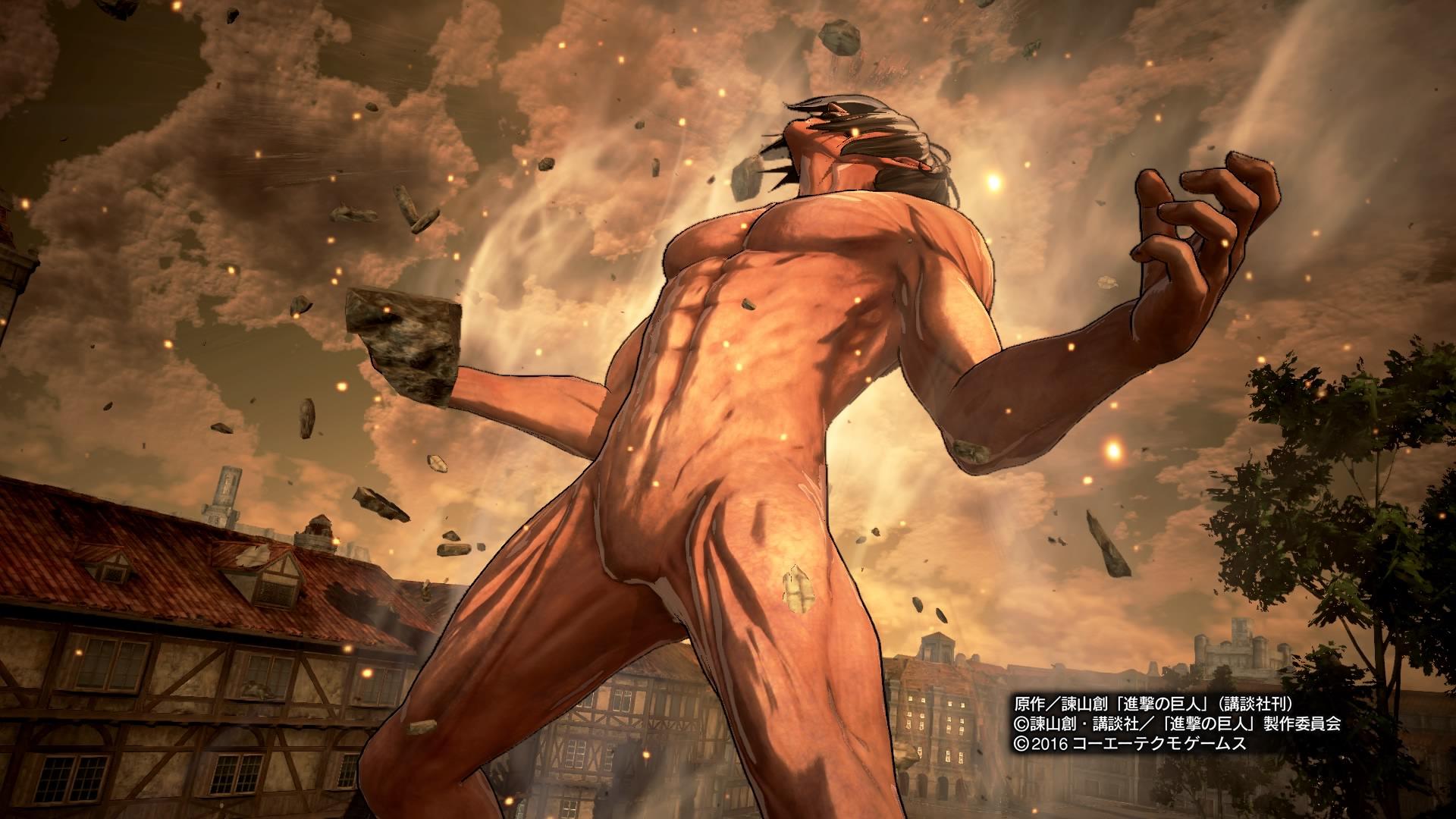 Ps4 Ps3 Ps Vita 進撃の巨人 レビュー 進撃の巨人 Game Watch